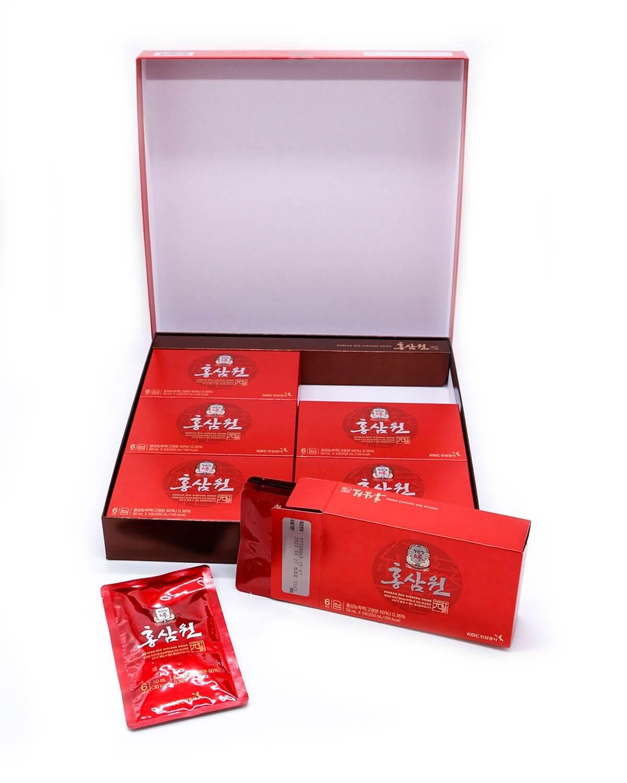 Напиток из экстракта корейского красного женьшеня-1