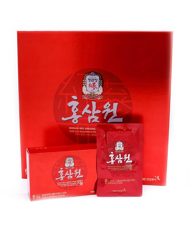 Напиток из экстракта корейского красного женьшеня-10