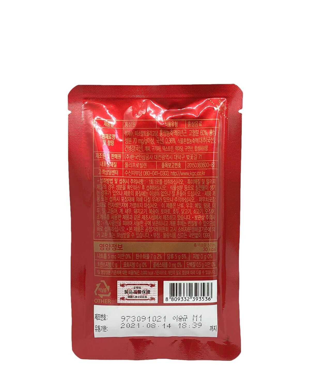 Напиток из экстракта корейского красного женьшеня-6
