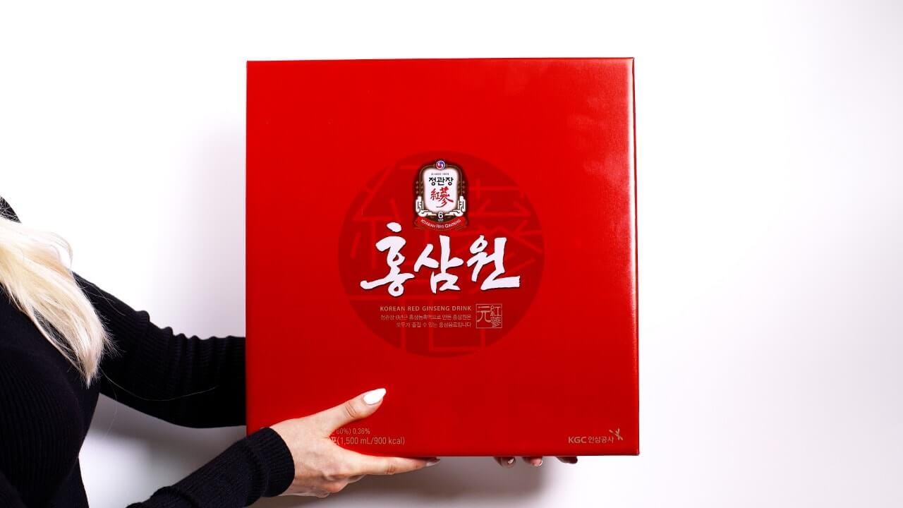 Напиток из экстракта корейского красного женьшеня-11