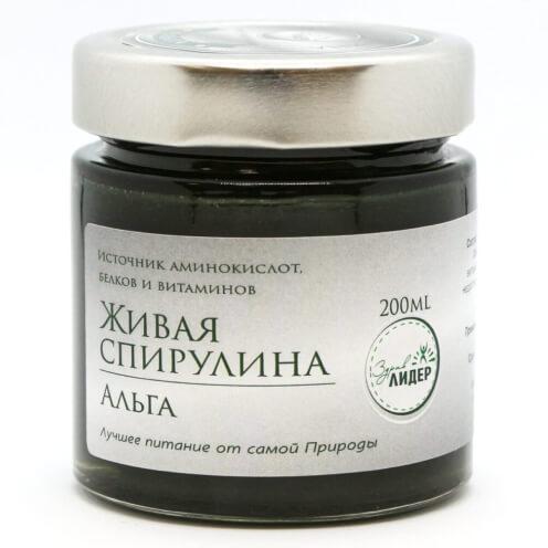 Живая спирулина «Альга»-1
