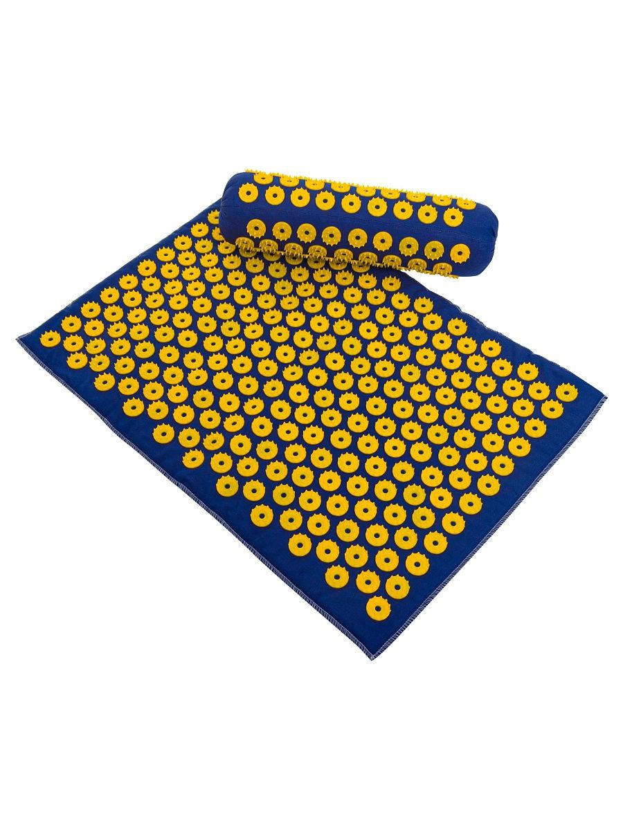 В комплект входят коврик (41х60 см) и валик (38х10 см)-1