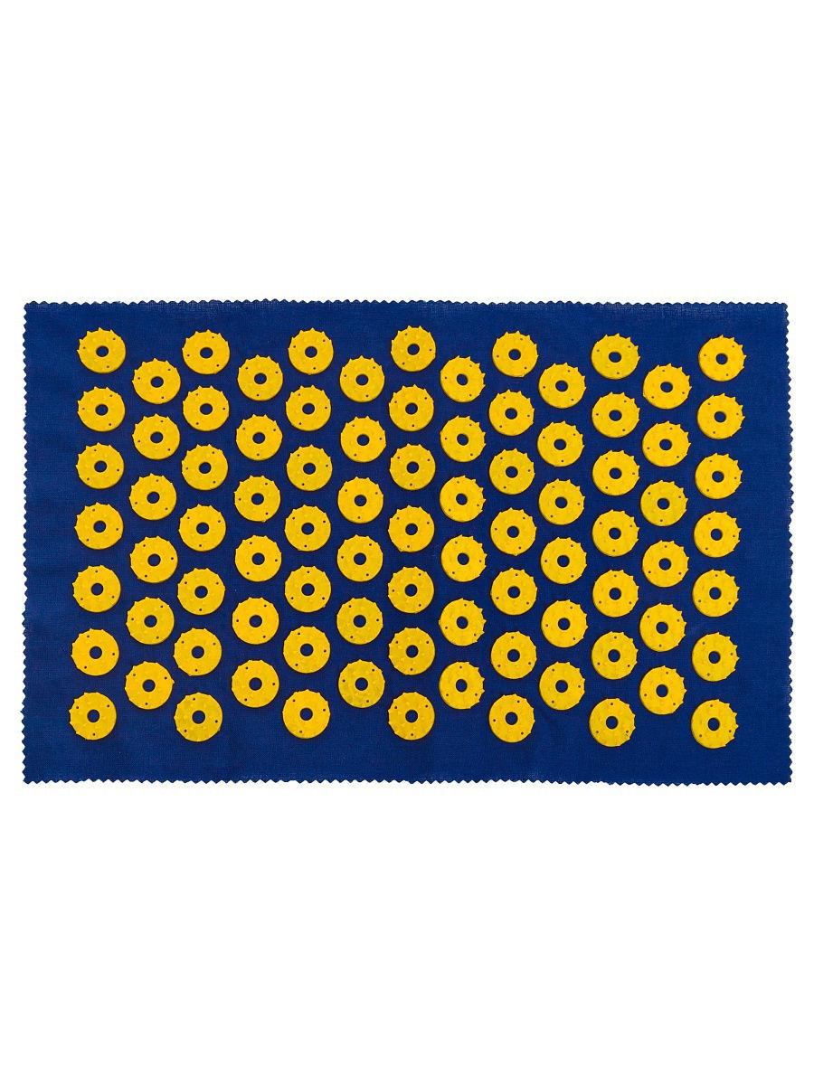 Ипликатор-коврик игольчатый для улучшения кровообращения. Размеры 25х40 см, 85 шт.-1