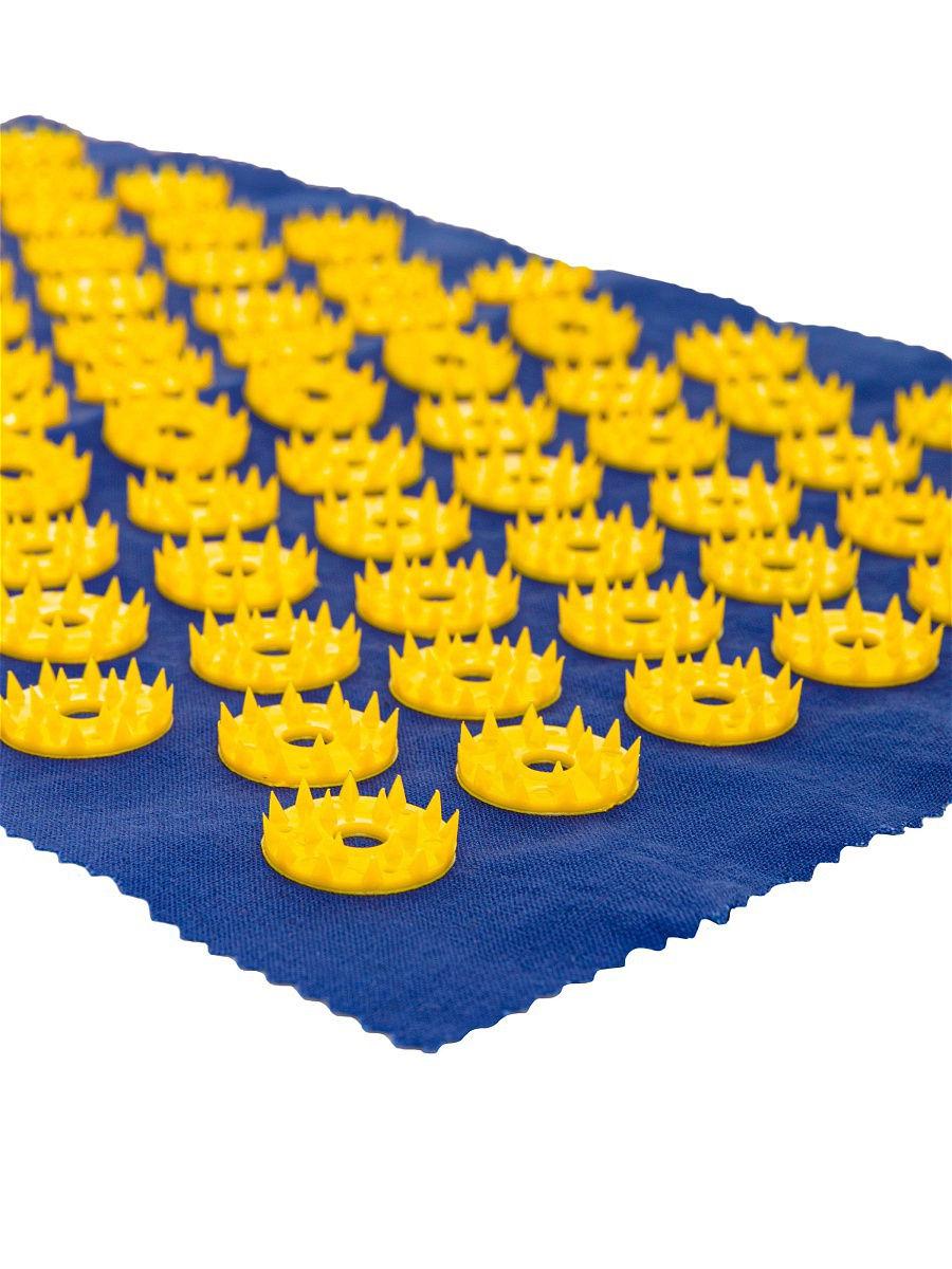 Ипликатор-коврик игольчатый для улучшения кровообращения. Размеры 25х40 см, 85 шт.-2