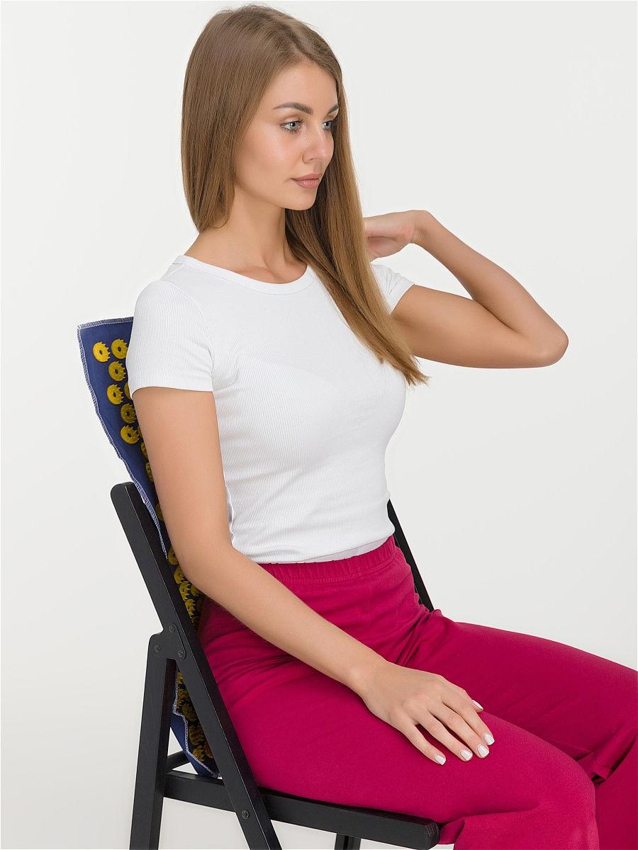 Ипликатор-коврик игольчатый для улучшения кровообращения. Размеры 41х60 см, 242 шт.-6