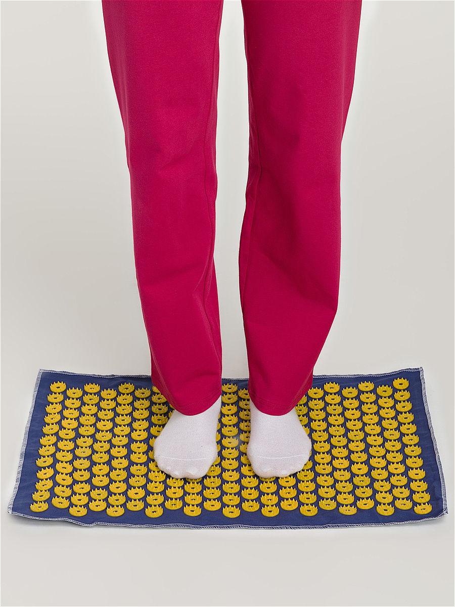 Ипликатор-коврик игольчатый для улучшения кровообращения. Размеры 41х60 см, 242 шт.-7